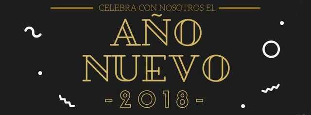 Celebra con nosostros el Año Nuevo