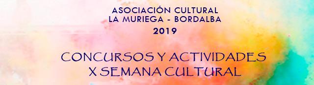 Concursos y actividades X Semana Cultural