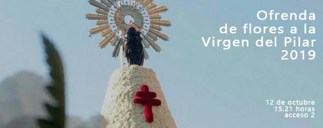 Ofrenda de Flores a la Virgen del Pilar 2019