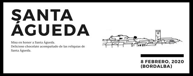 Convocatoria: Santa Águeda 2020
