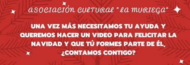 Necesitamos tu ayuda para el video de navidad