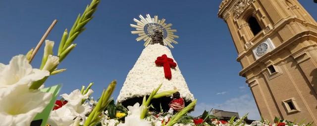 Ofrenda de Flores a la Virgen del Pilar 2021